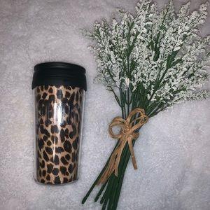 Pink Victoria's Secret Reusable Coffee Mug